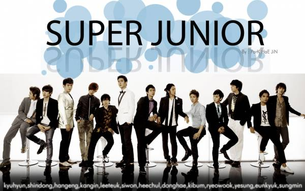 Обои -Super Junior